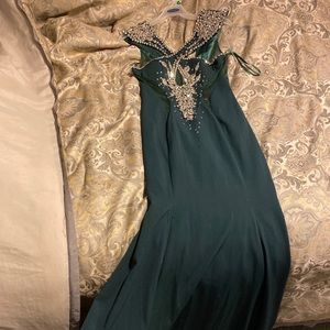 Never before worn gown